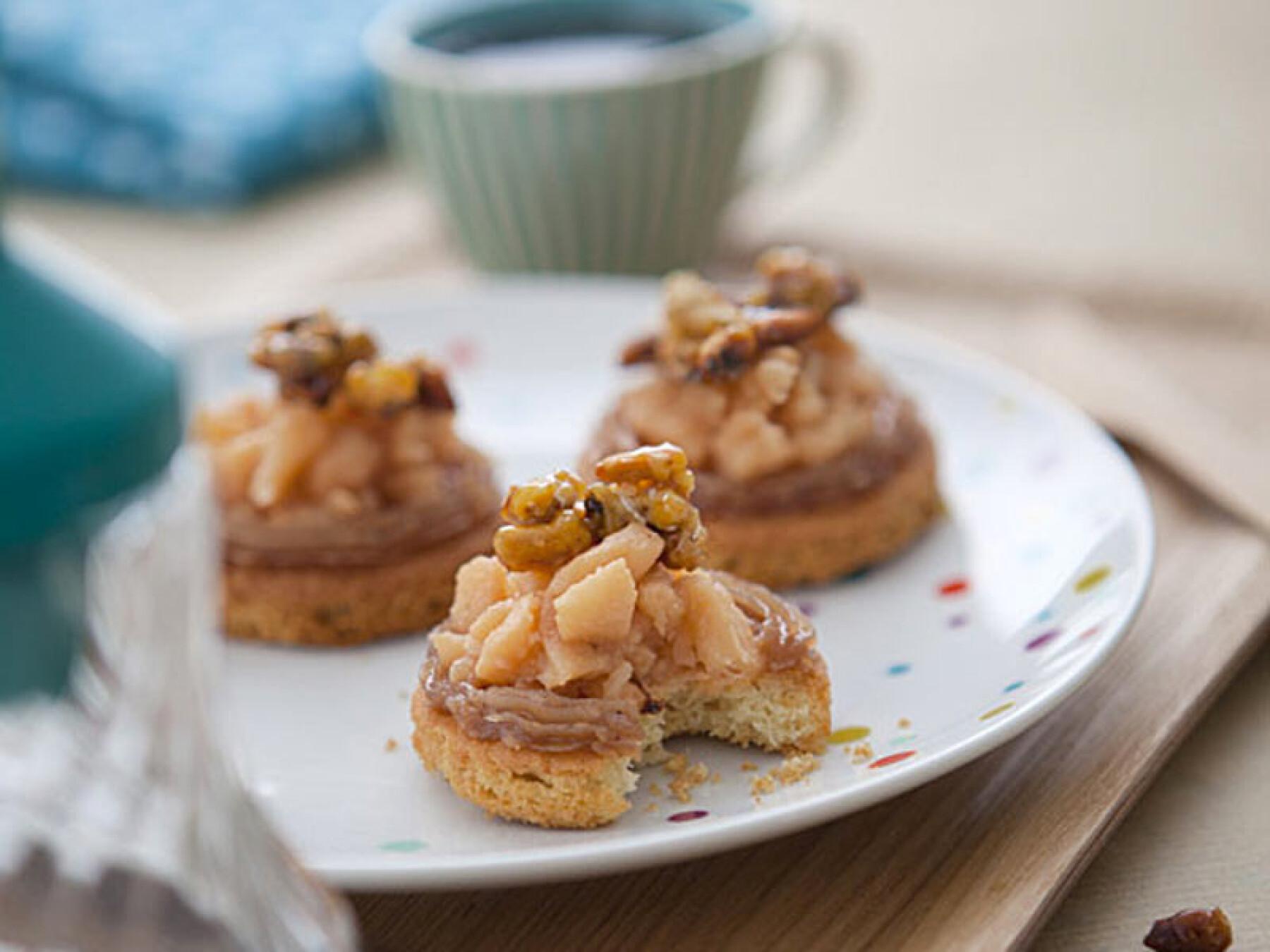 Tartelette minute crème de marrons