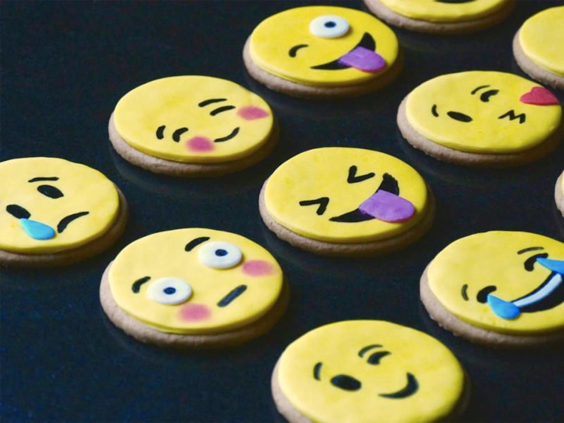 Sablés emojis