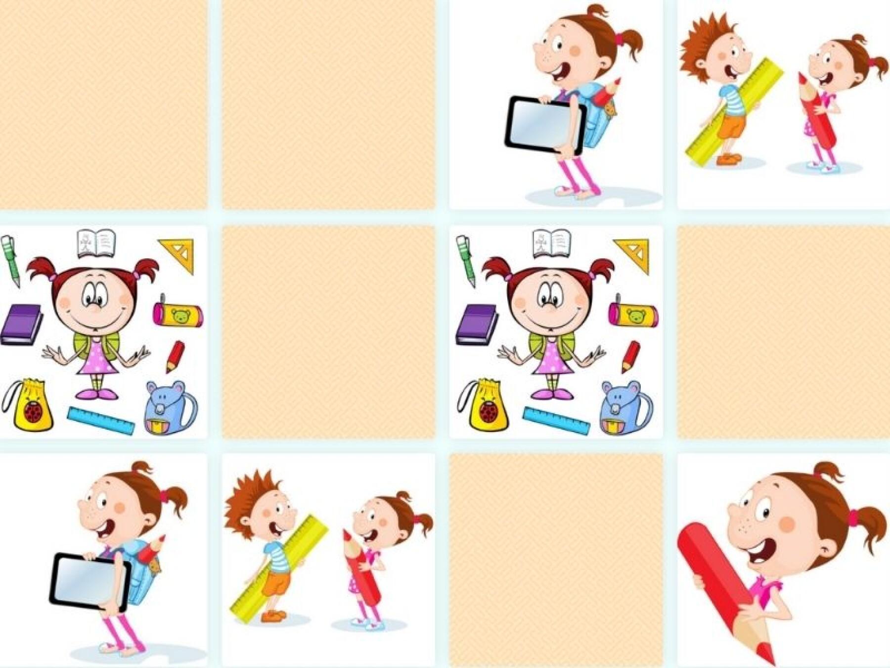 Memory : tous à l'école !
