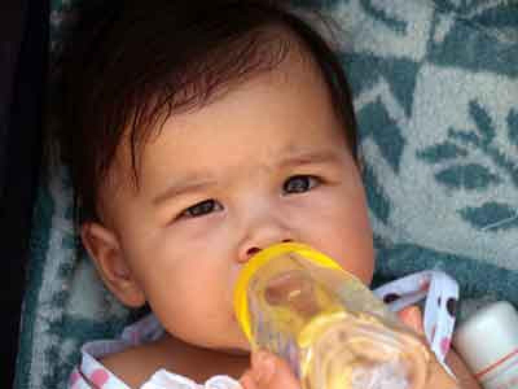 Déshydratation : prudence avec un bébé