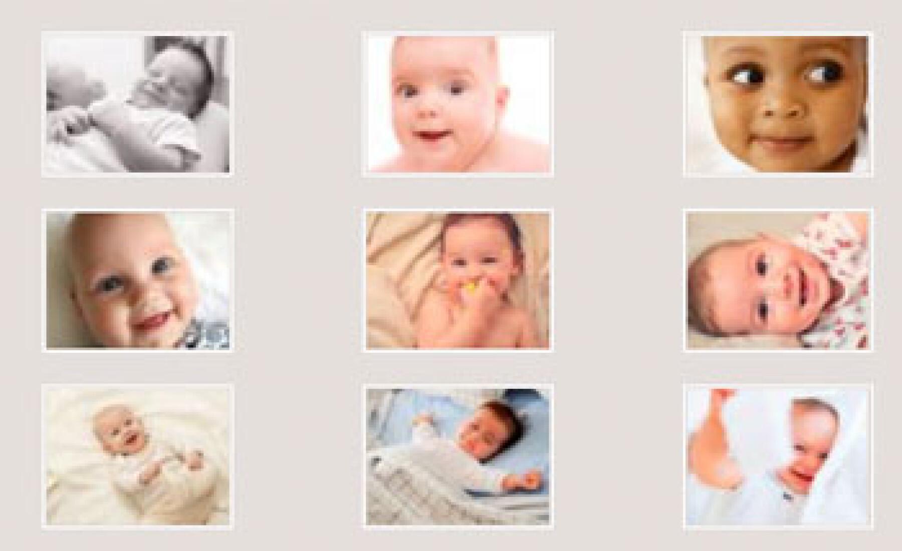 sourires de bébé