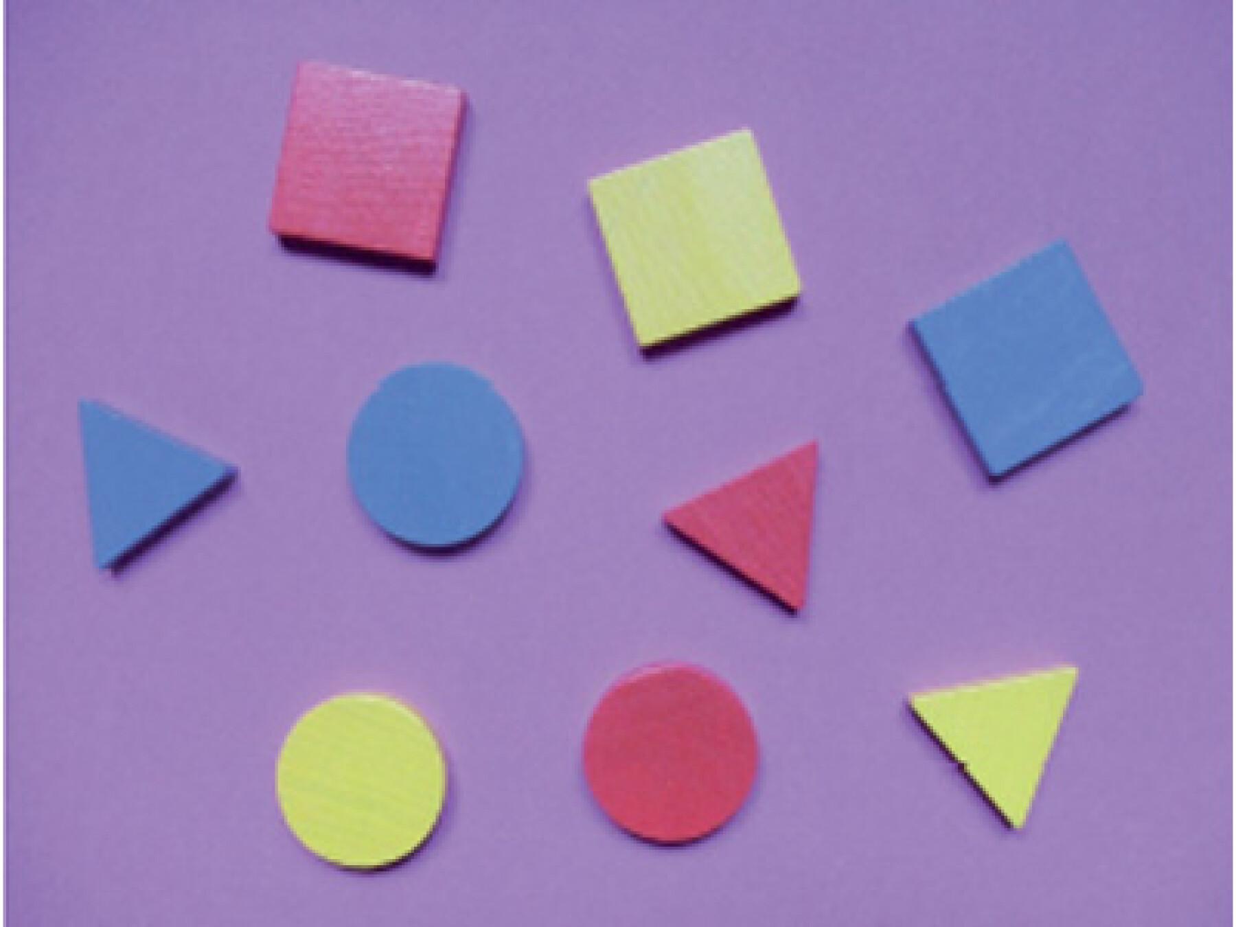 Le triangle, le cercle, et le carré