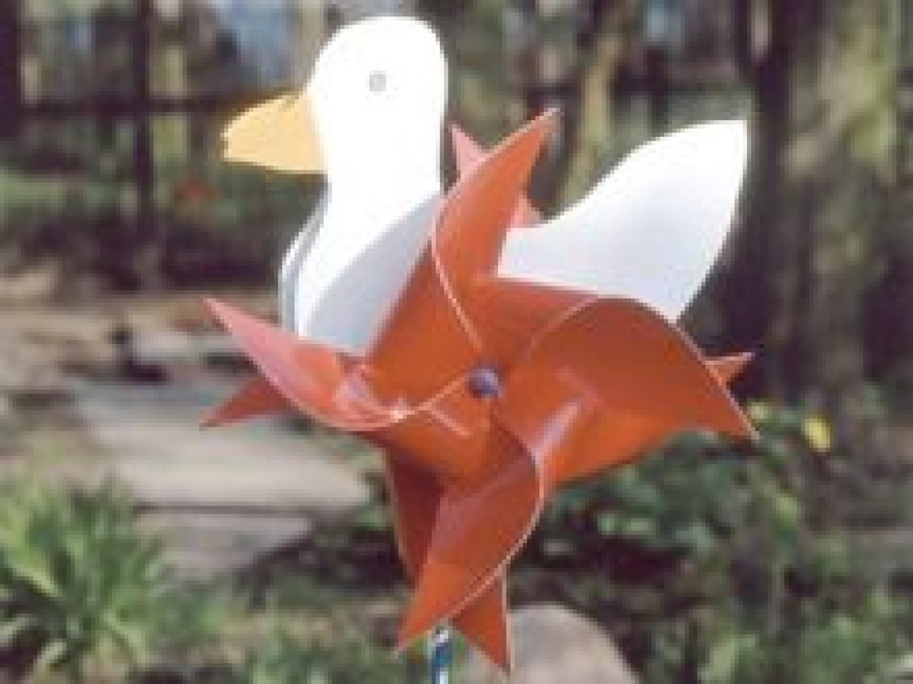 Moulin à vent canard