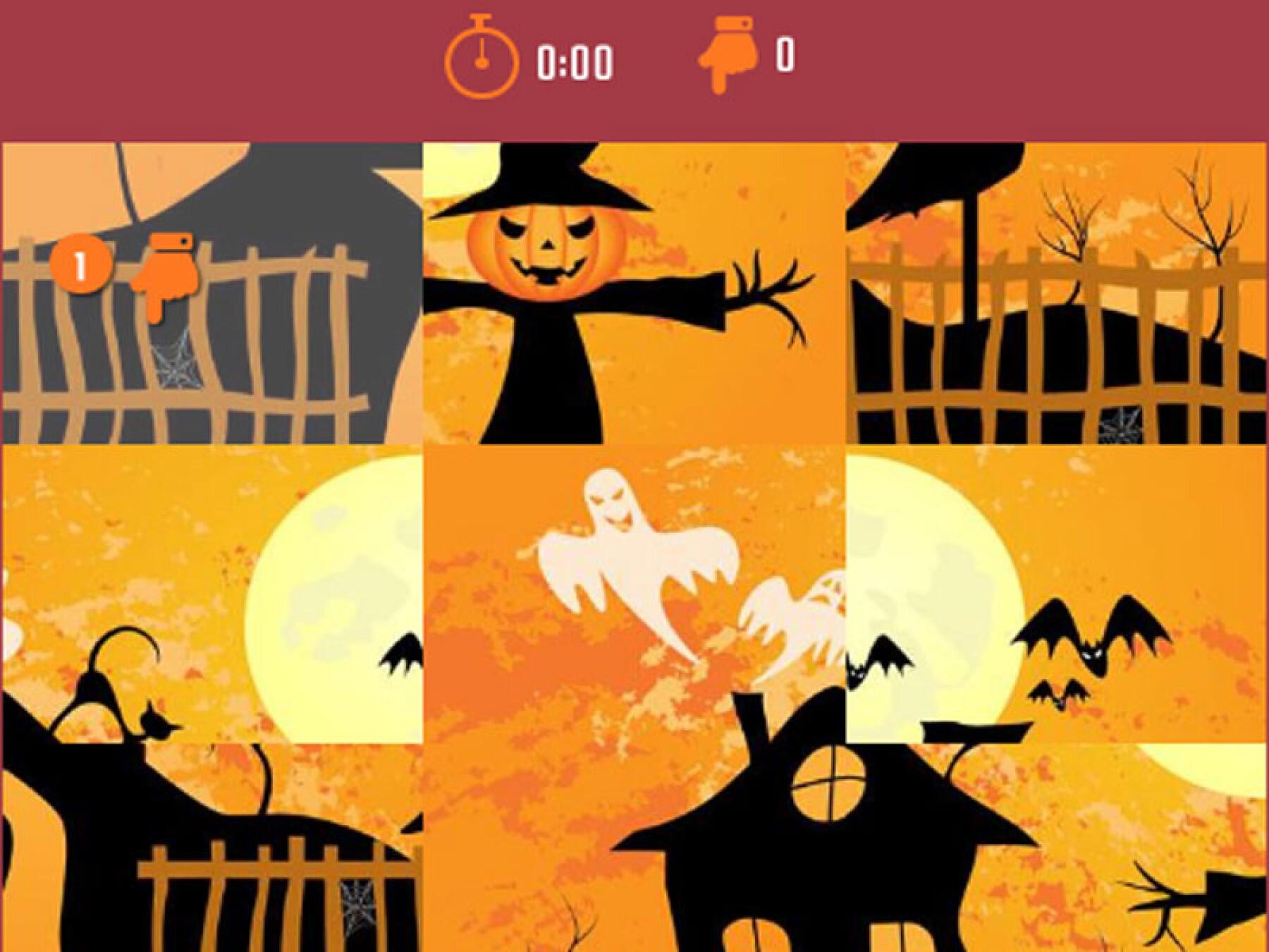 5 puzzles d'Halloween