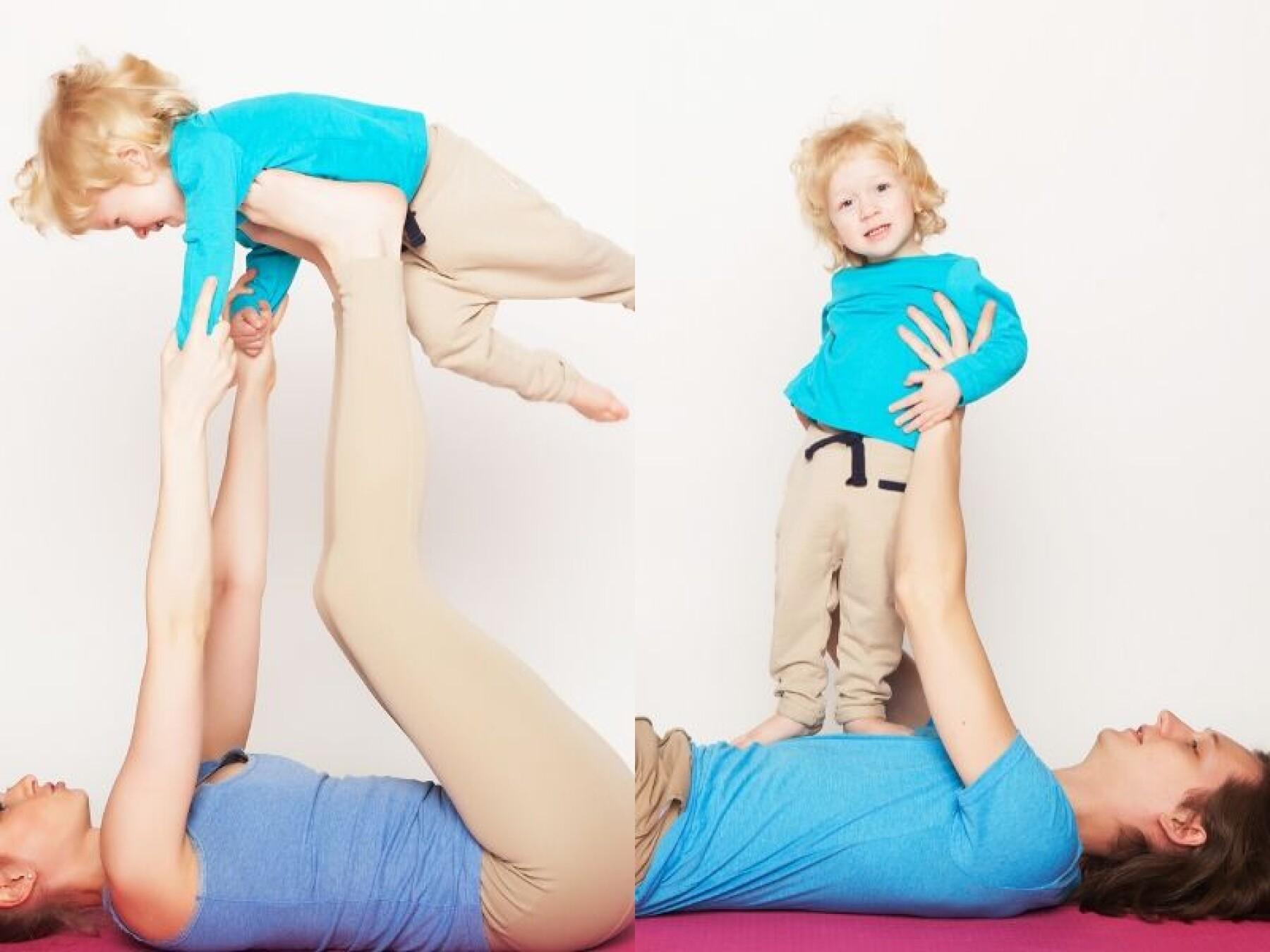 4 exercices de gym pour les 1-3 ans