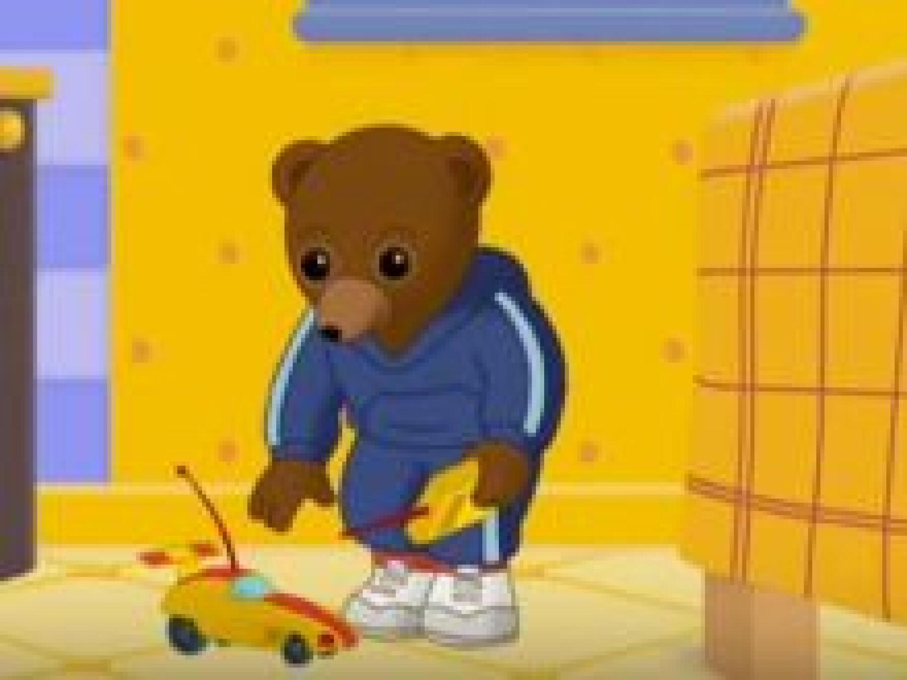 Petit Ours Brun casse son jouet