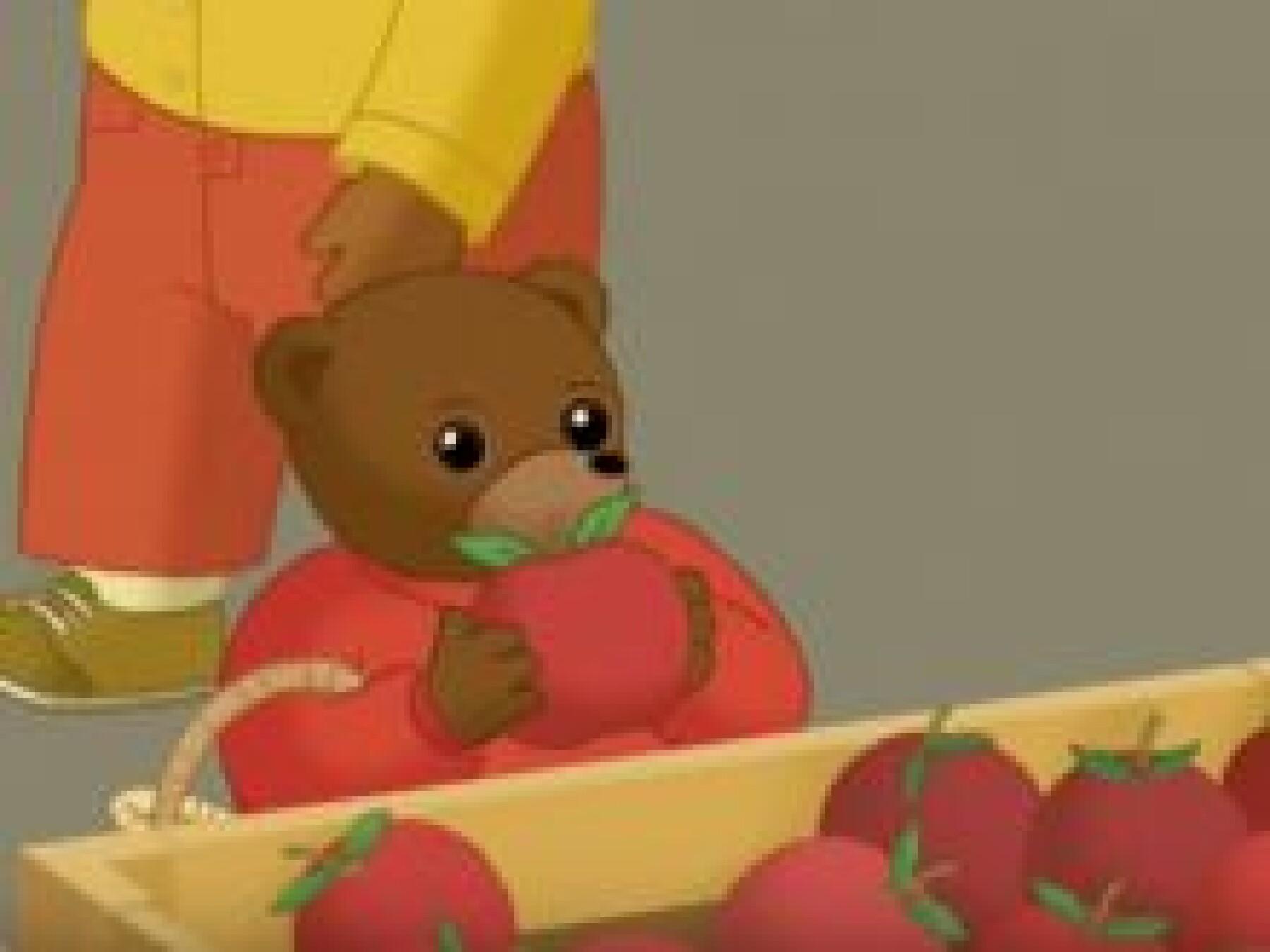 Petit Ours Brun se perd au marché