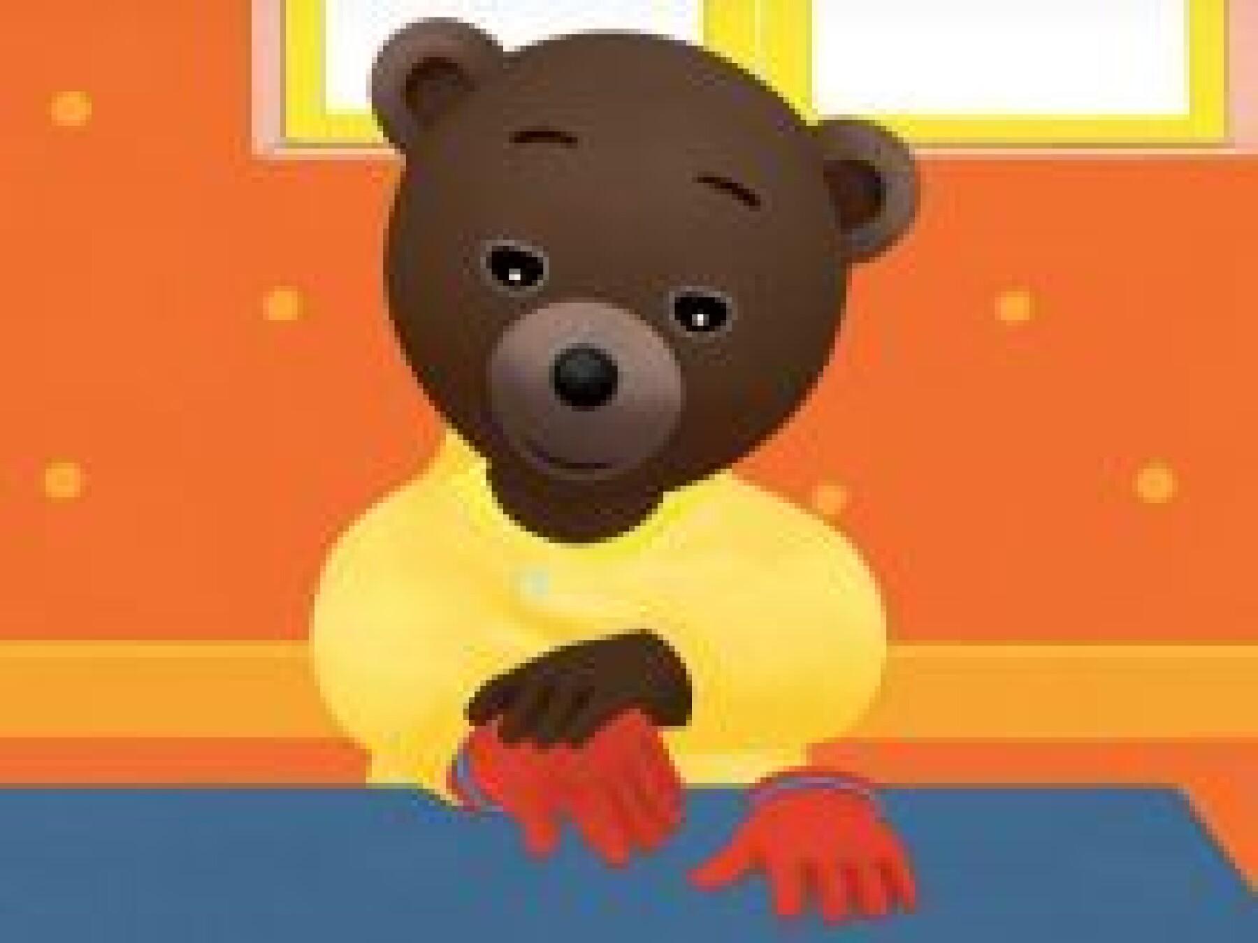 Petit Ours Brun met ses gants
