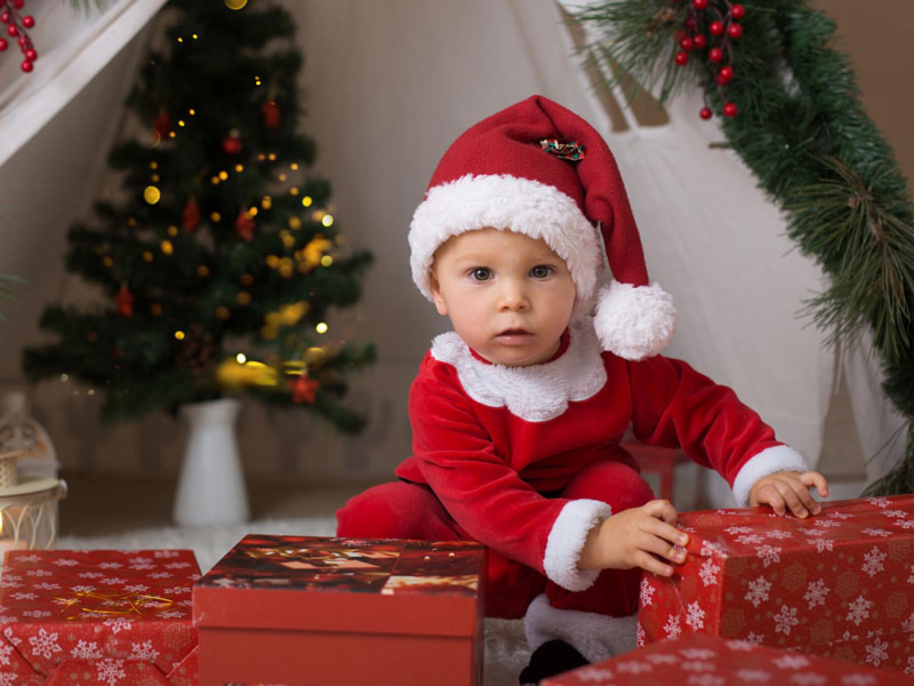bébé et Noël