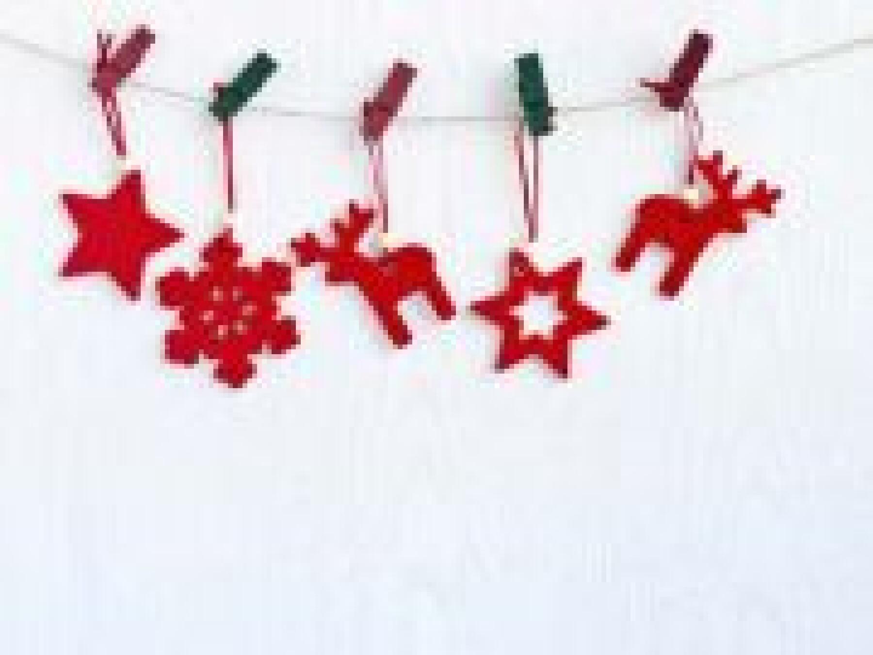 bricolage guirlande de Noël