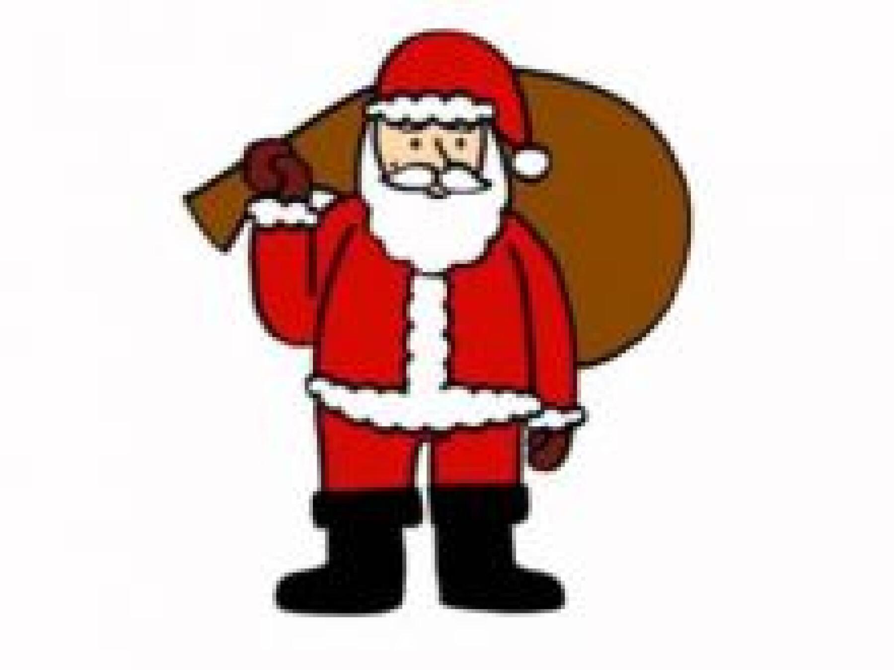 Dessiner un Père Noël