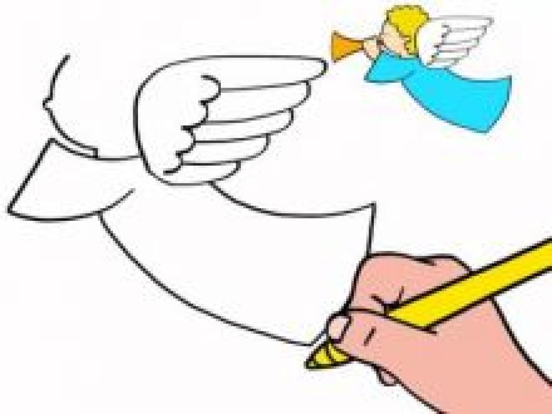 Dessiner un ange