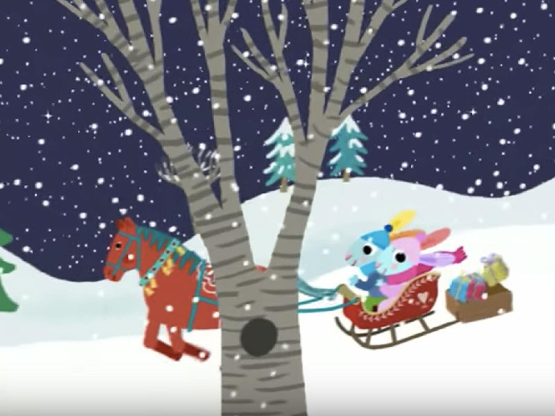 Les chansons de Pinpin et Lili : Jingle Bells