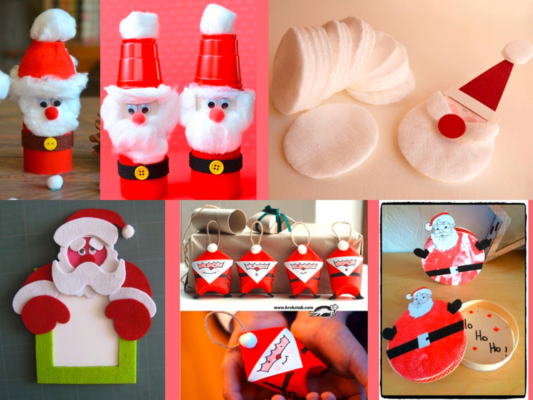 bricolages de Père Noël