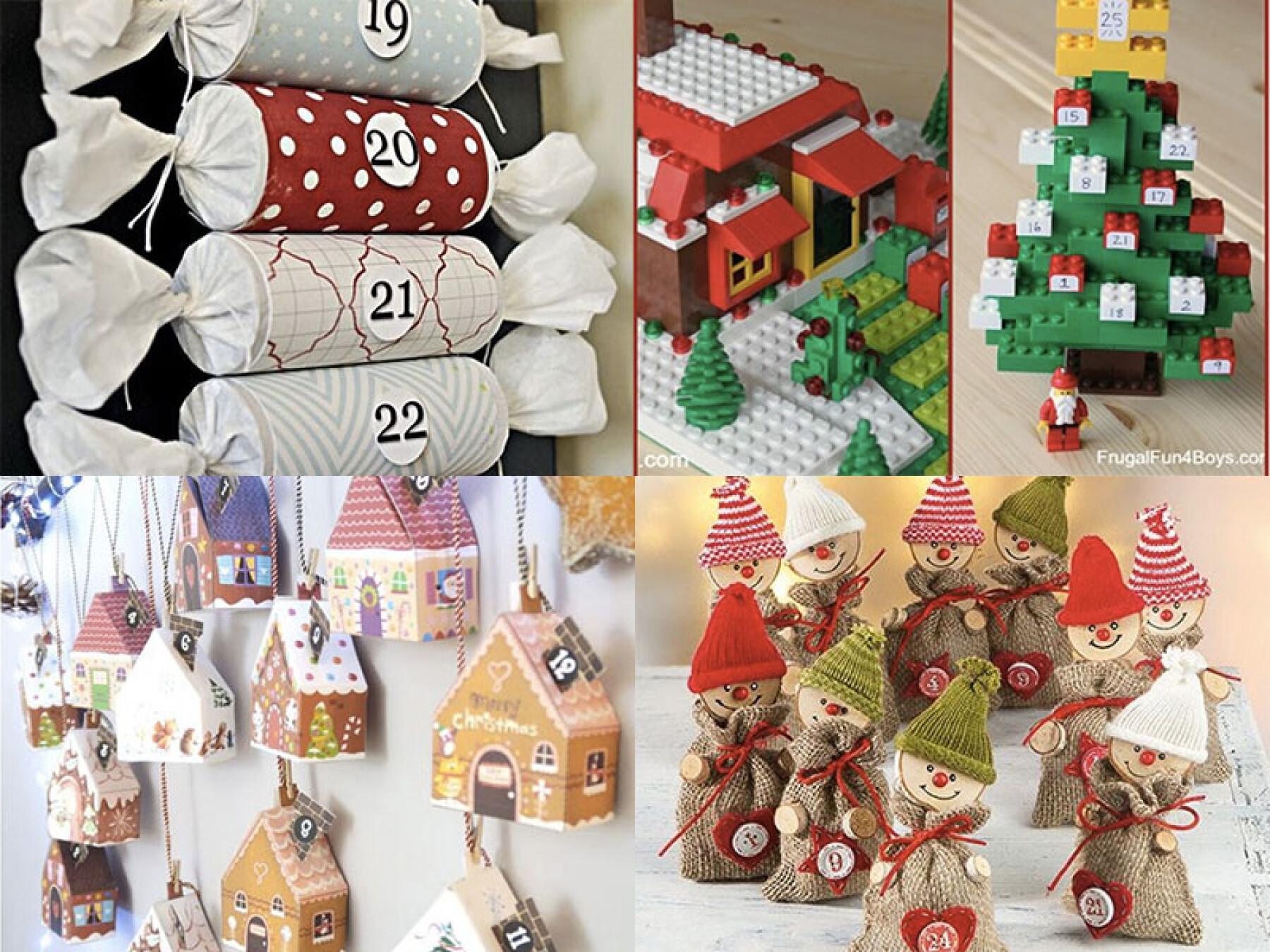 Bricolage : le calendrier de l'avent recyclage