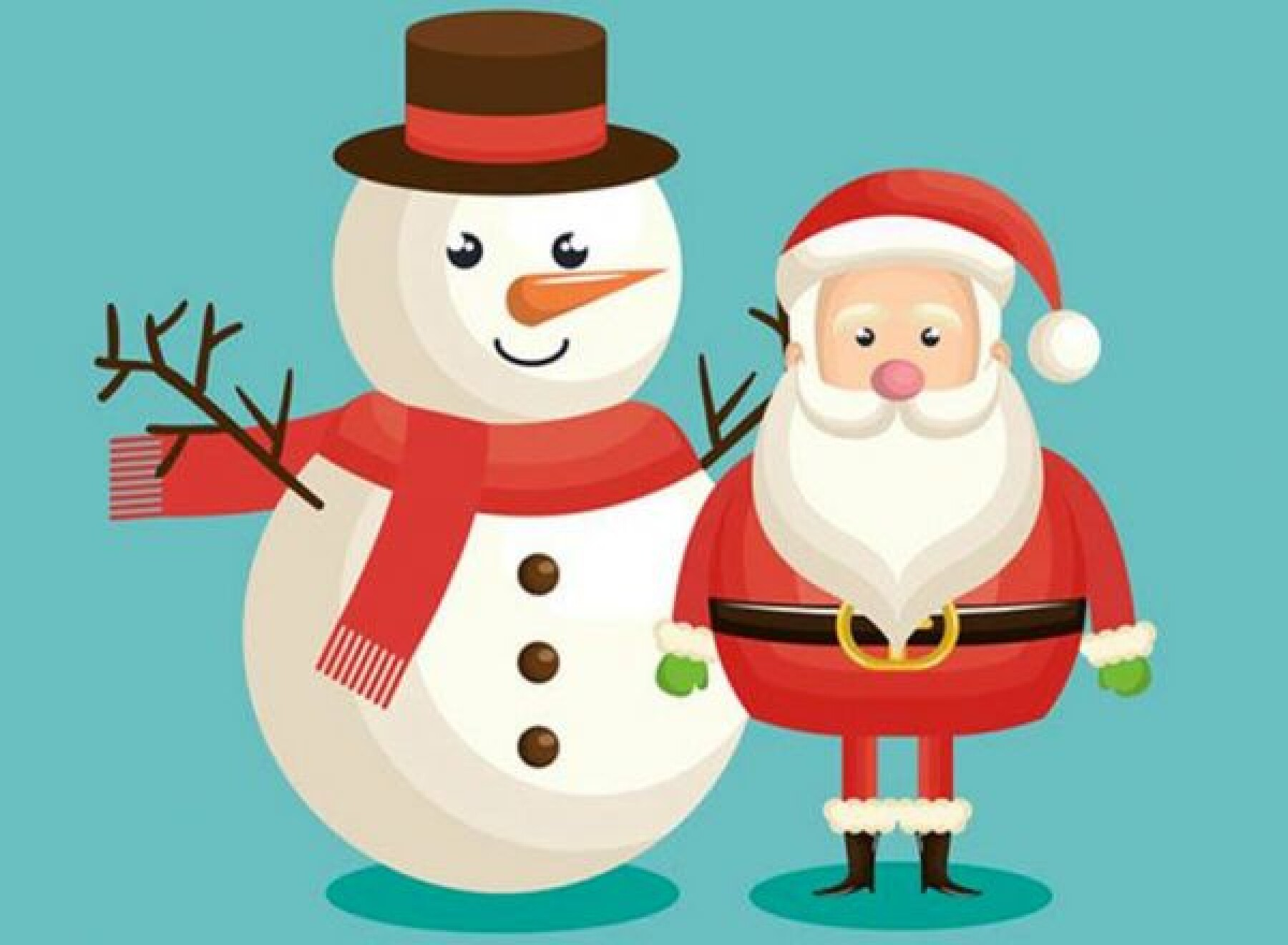 Jeu de différences du Père Noël