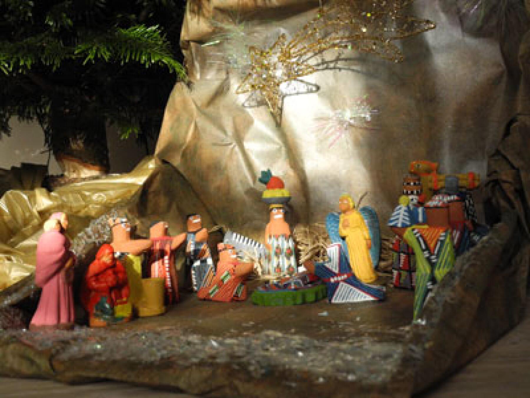 bricolage crèche de Noël