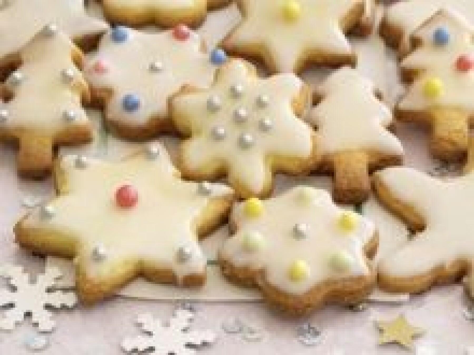 Biscuits de Noël givrés