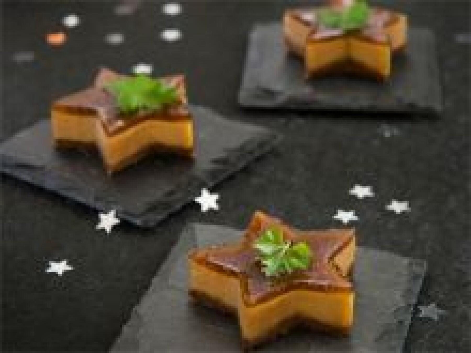 Cheese-cakes au foie gras et à la confiture de figues