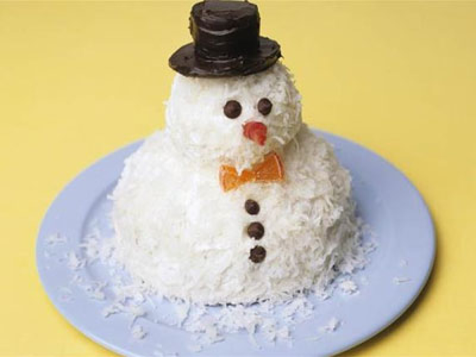 Recette de Noël : Bonhommes de neige coco choco
