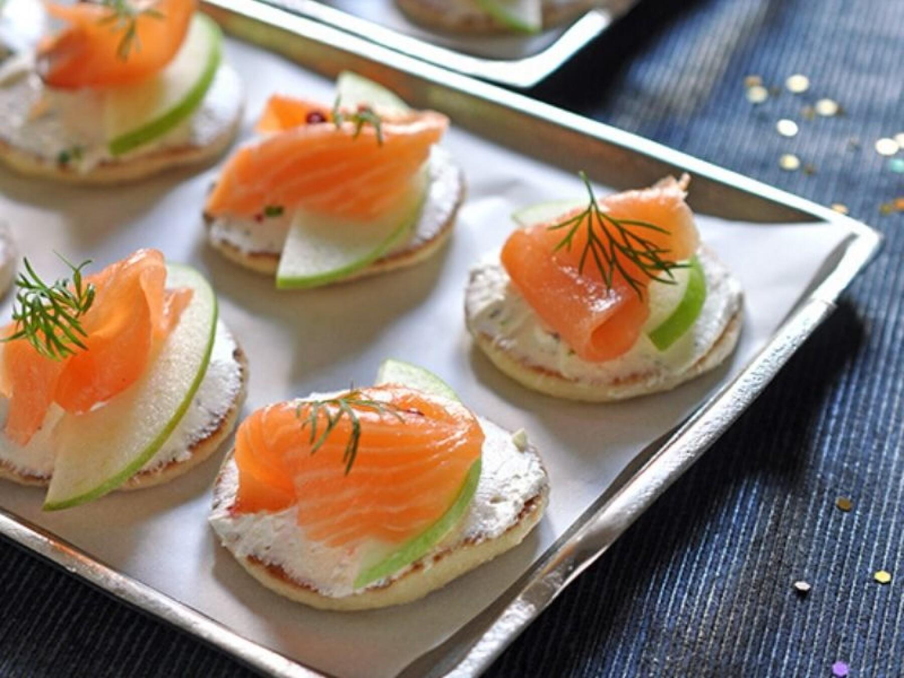Bouchée de saumon et granny au combawa