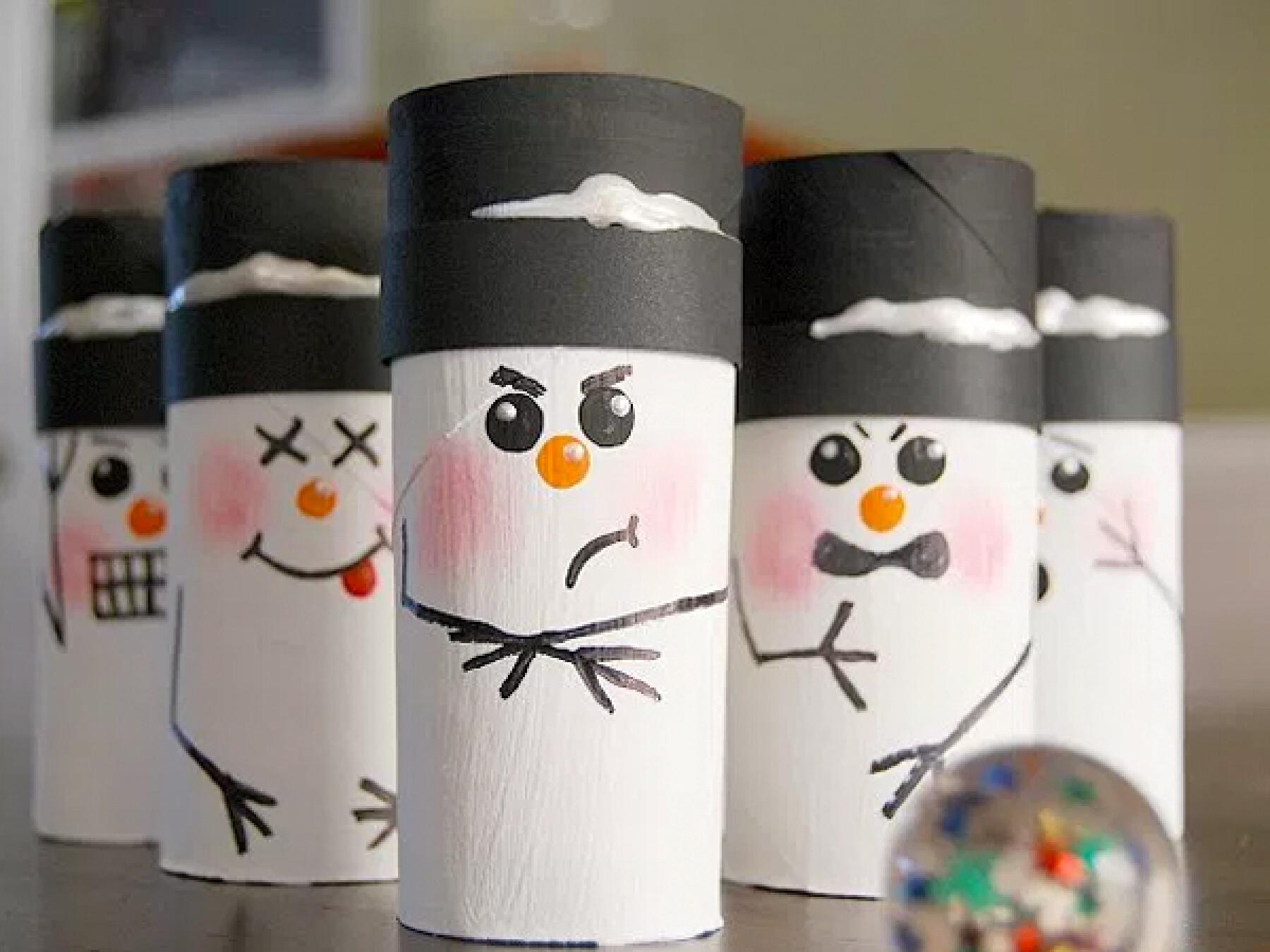 bricolages rouleaux de papier toilette