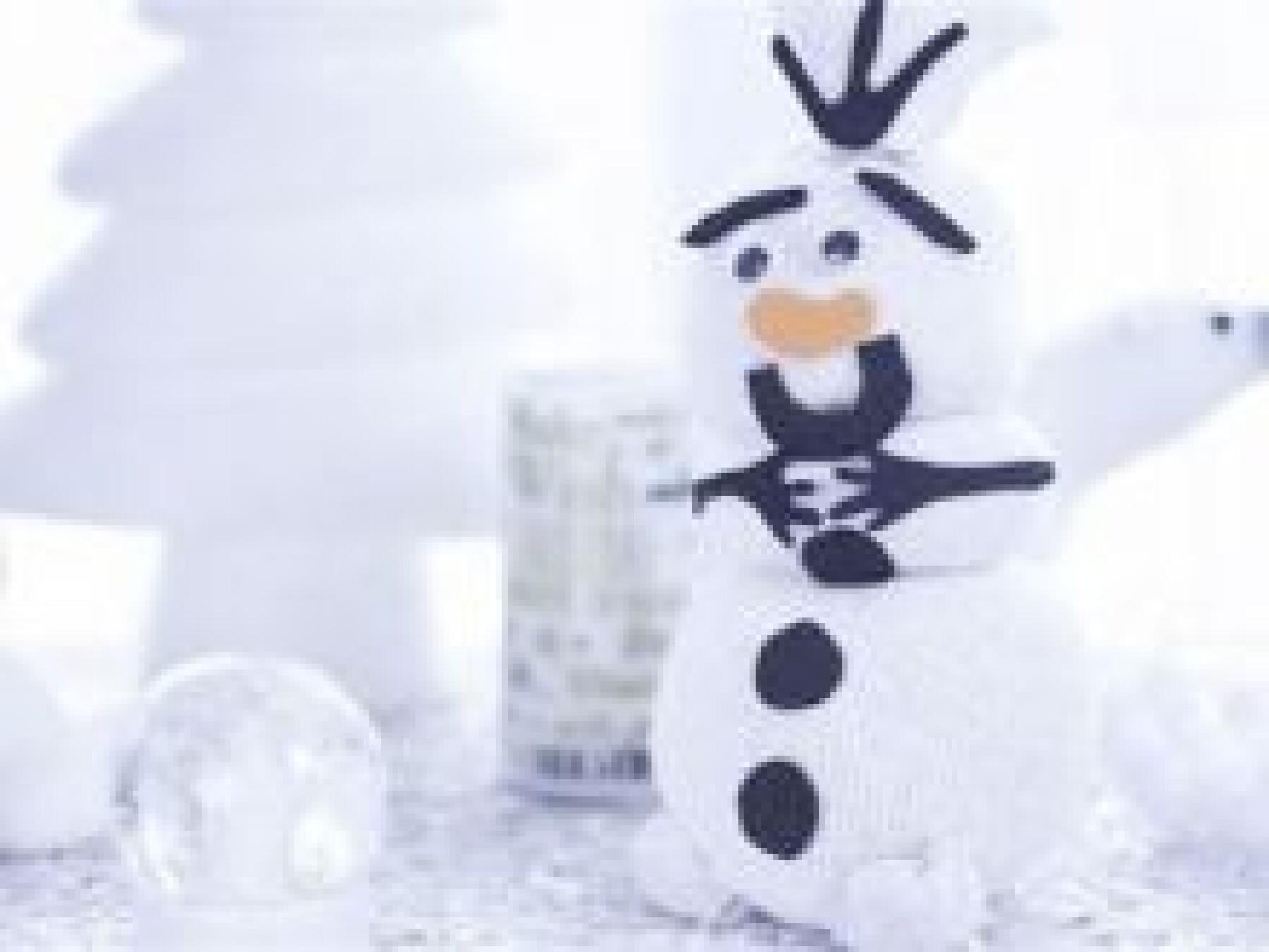 Olaf en chaussette