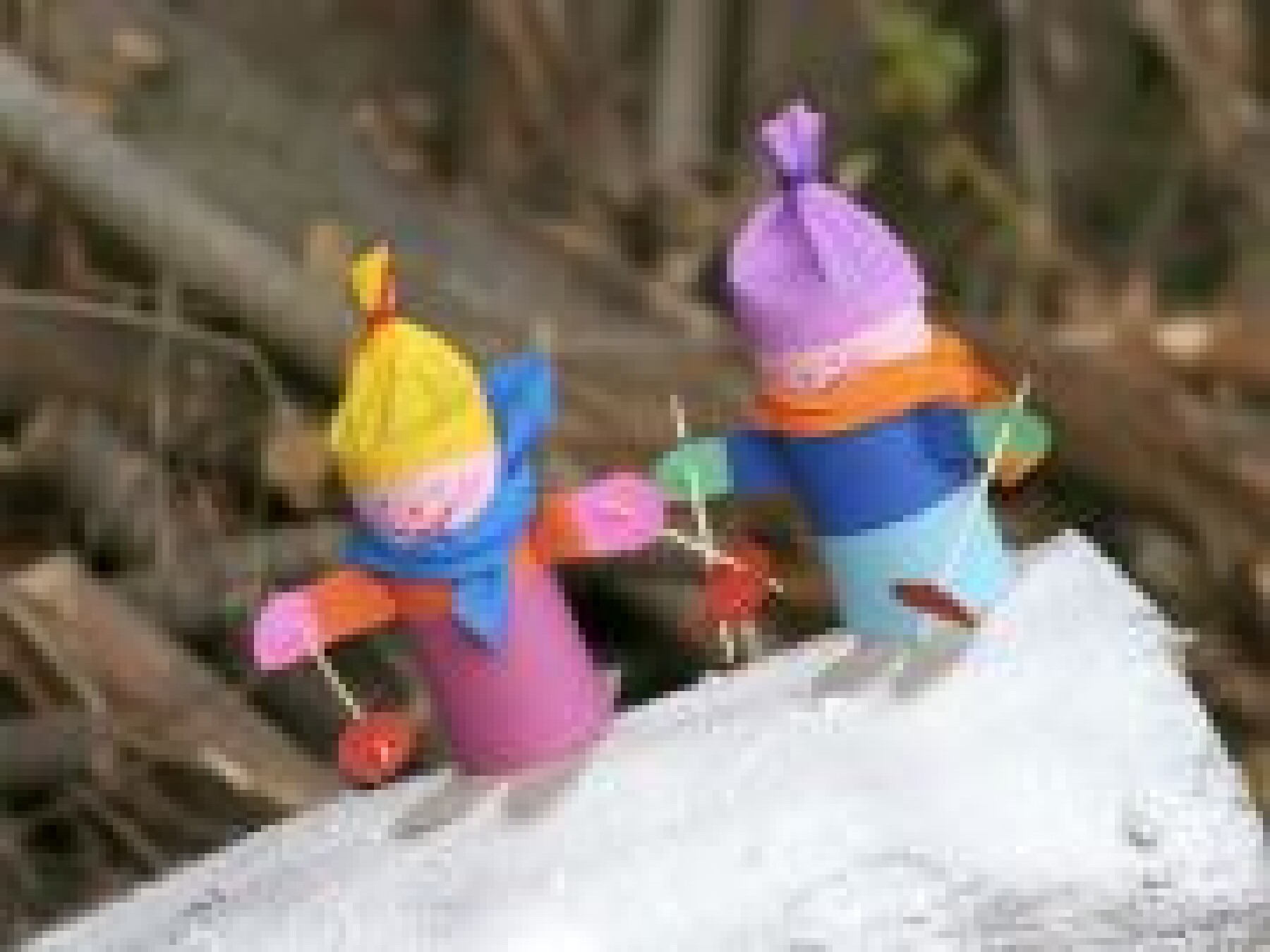 Petits skieurs