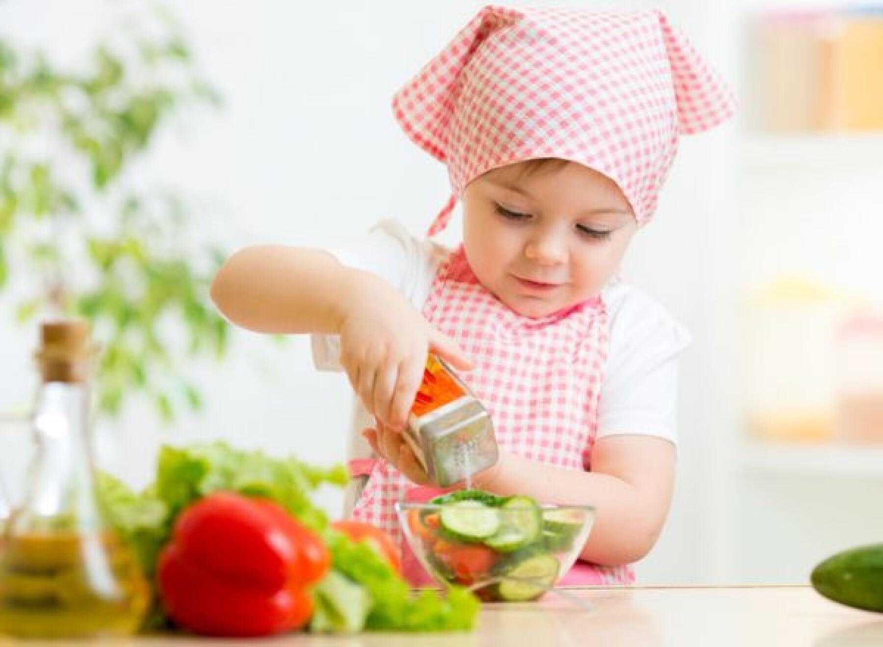 Atelier cuisine en famille