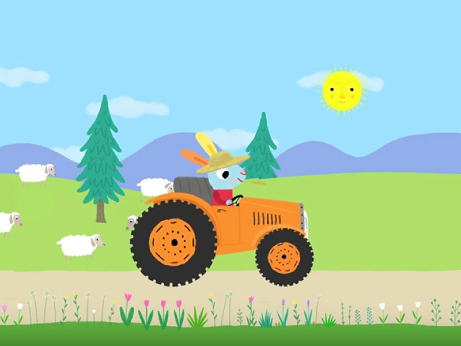 Le fermier dans son pré
