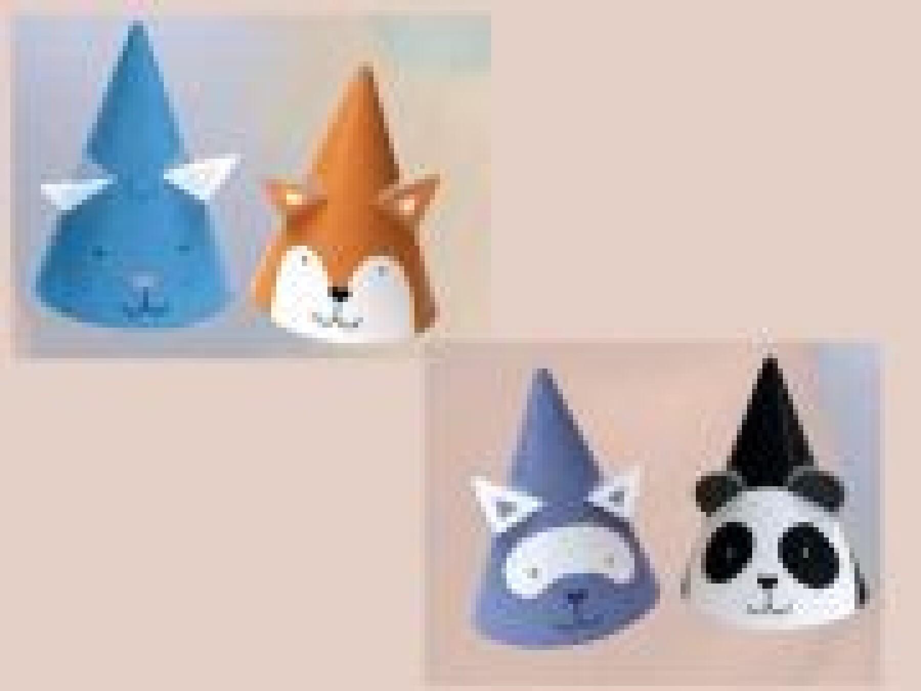 Les chapeaux animaux
