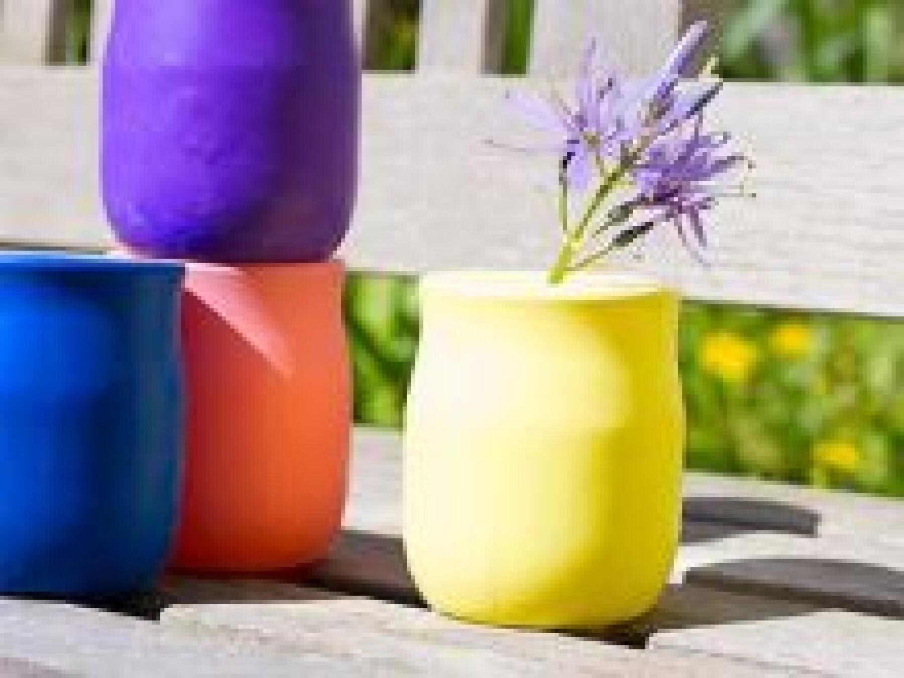 bricolage vase ballon