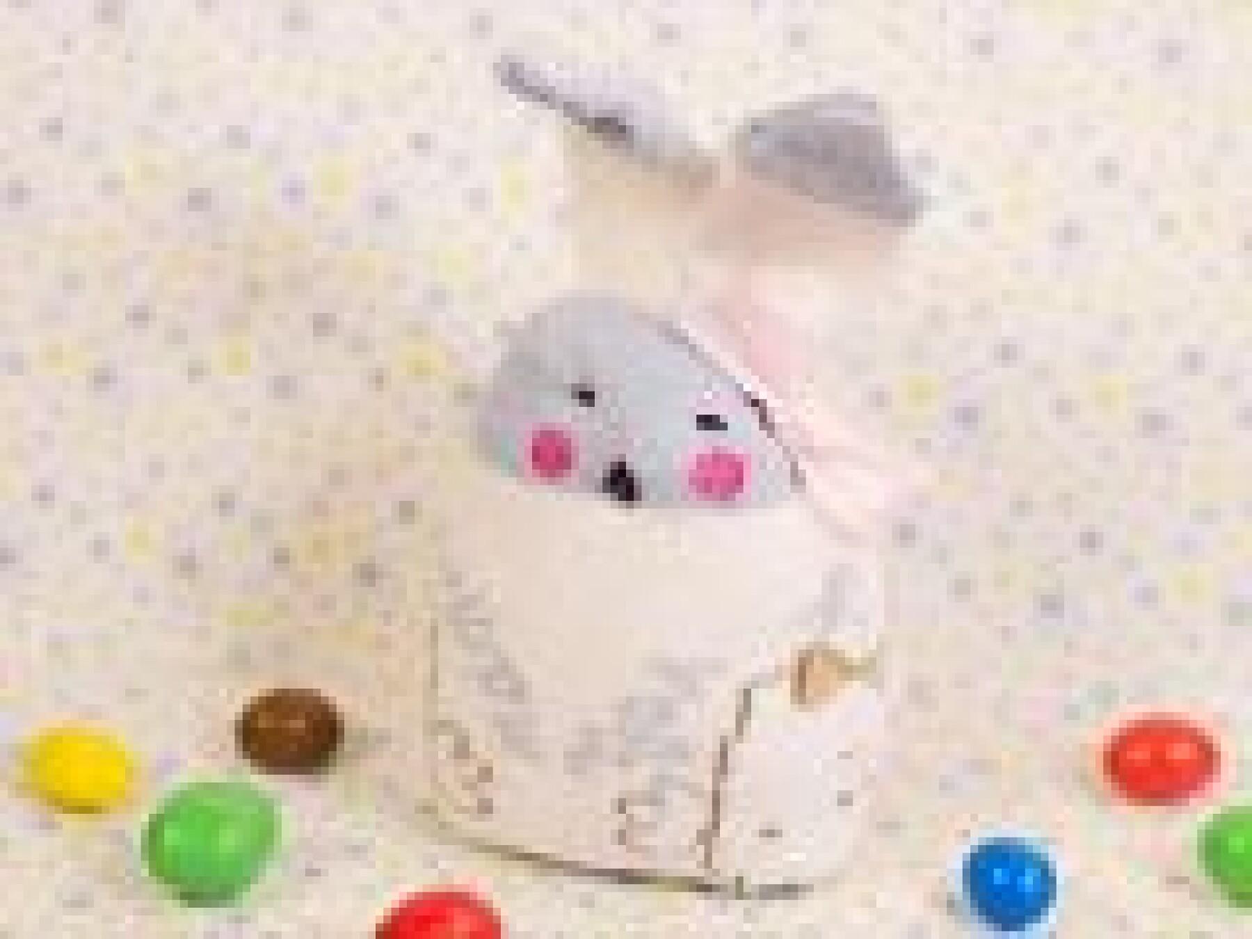 lapin chaussette de Pâques