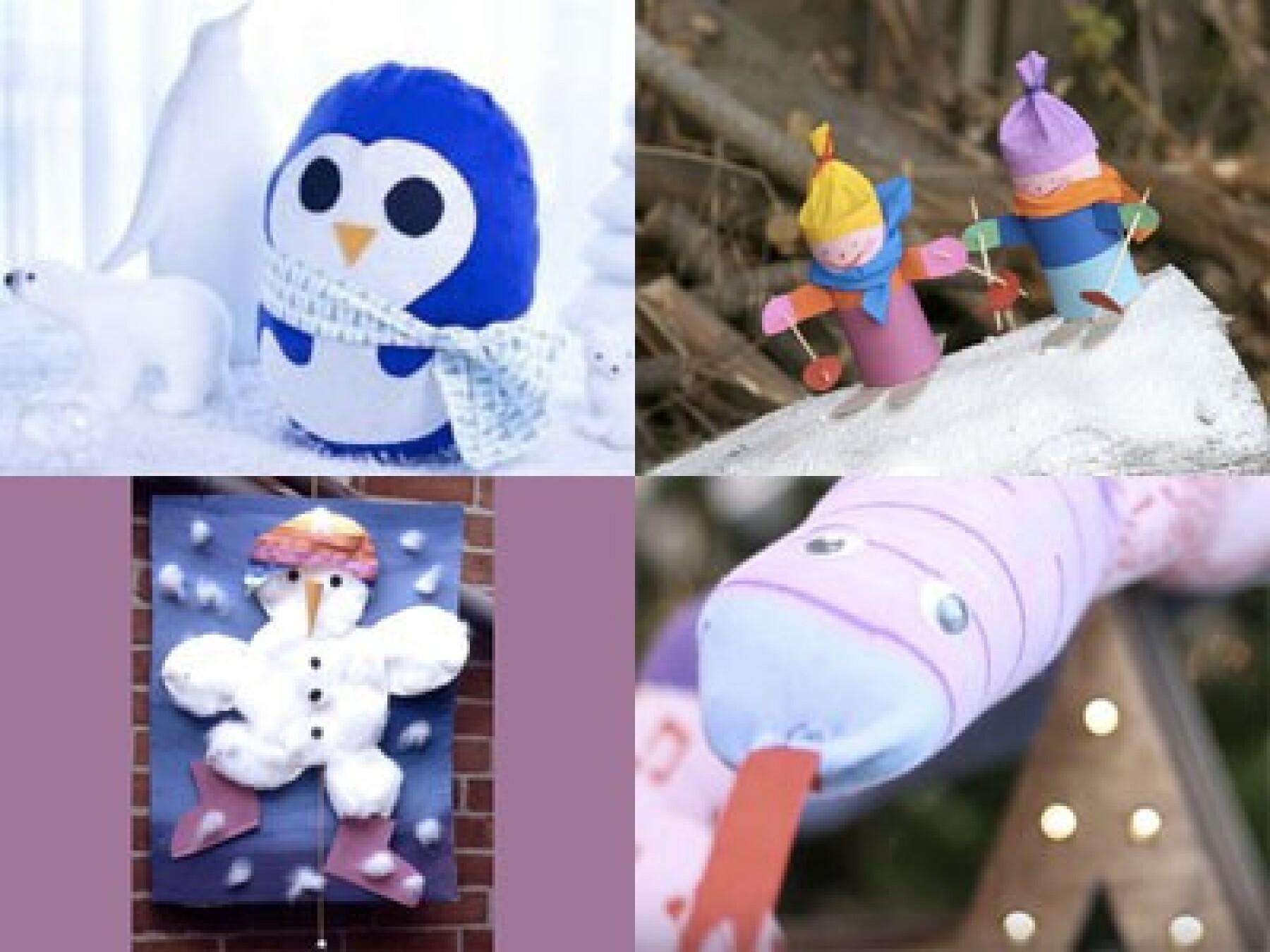 bricolages pour l'hiver