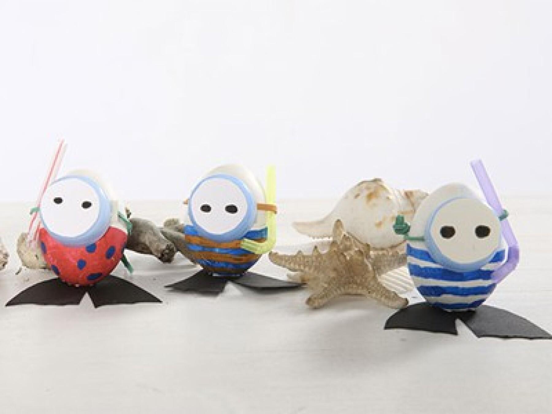 Les œufs plongeurs