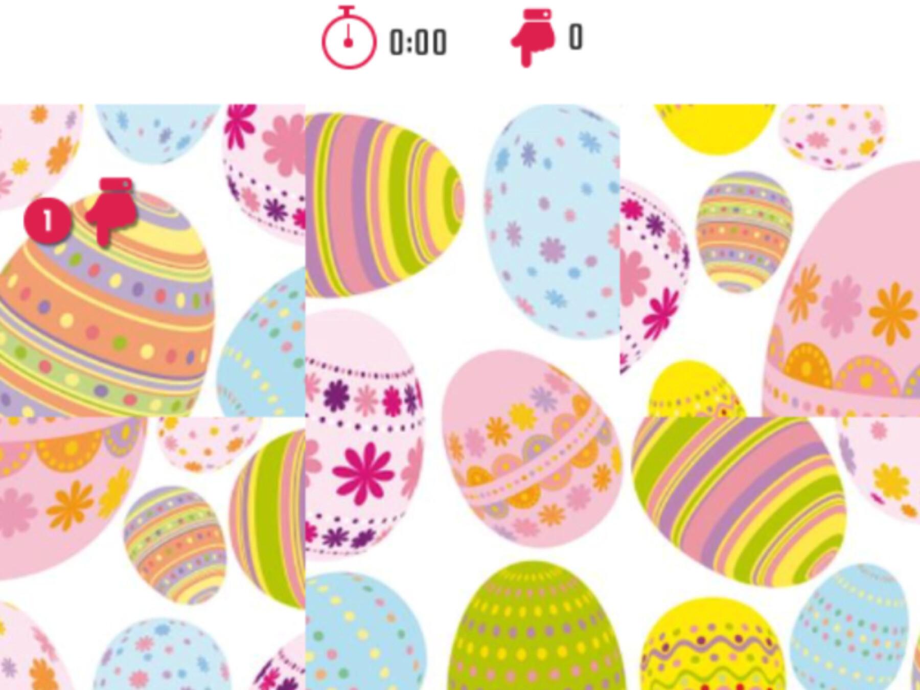 5 puzzles de Pâques