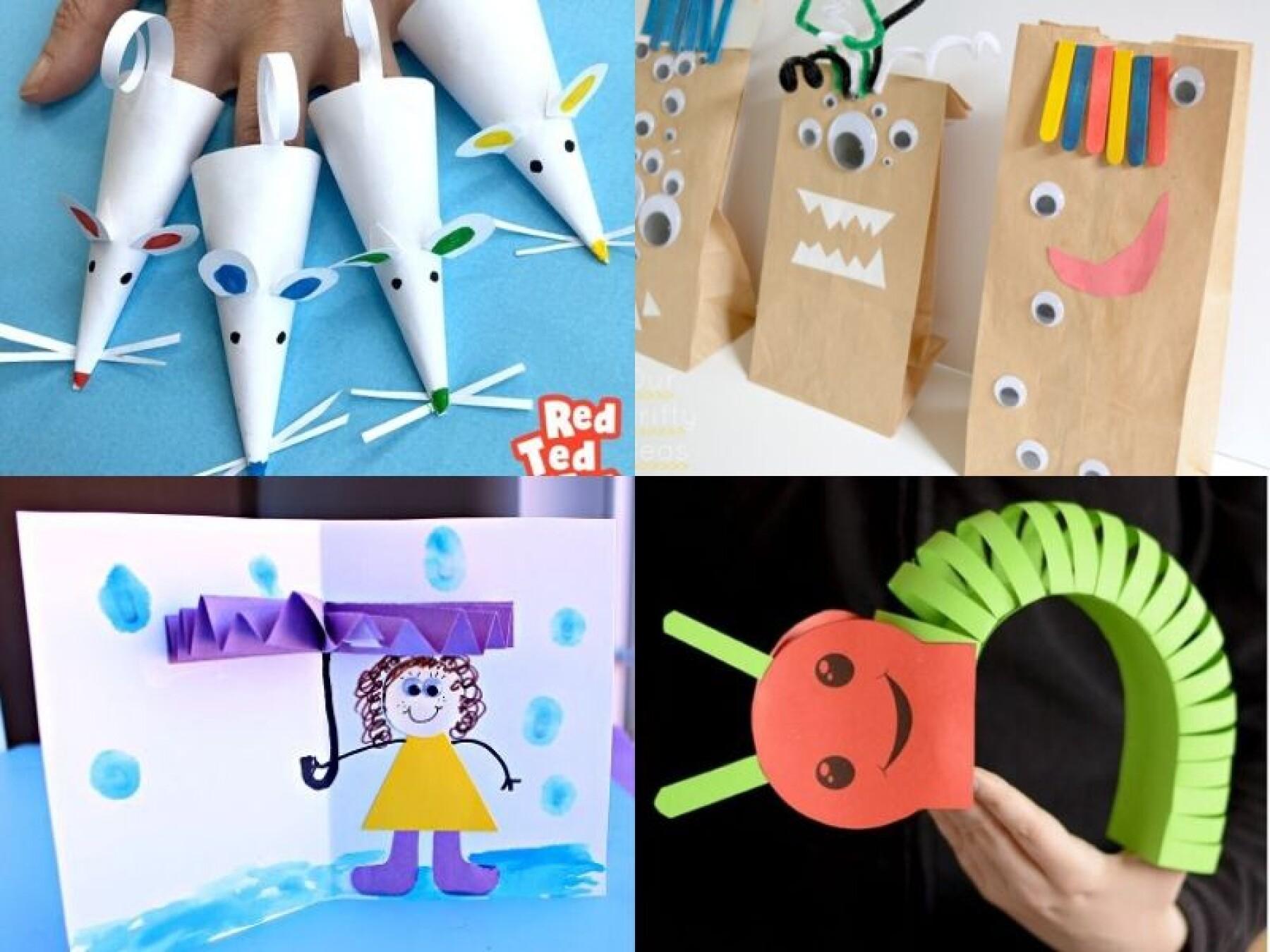 11 bricolages avec du papier