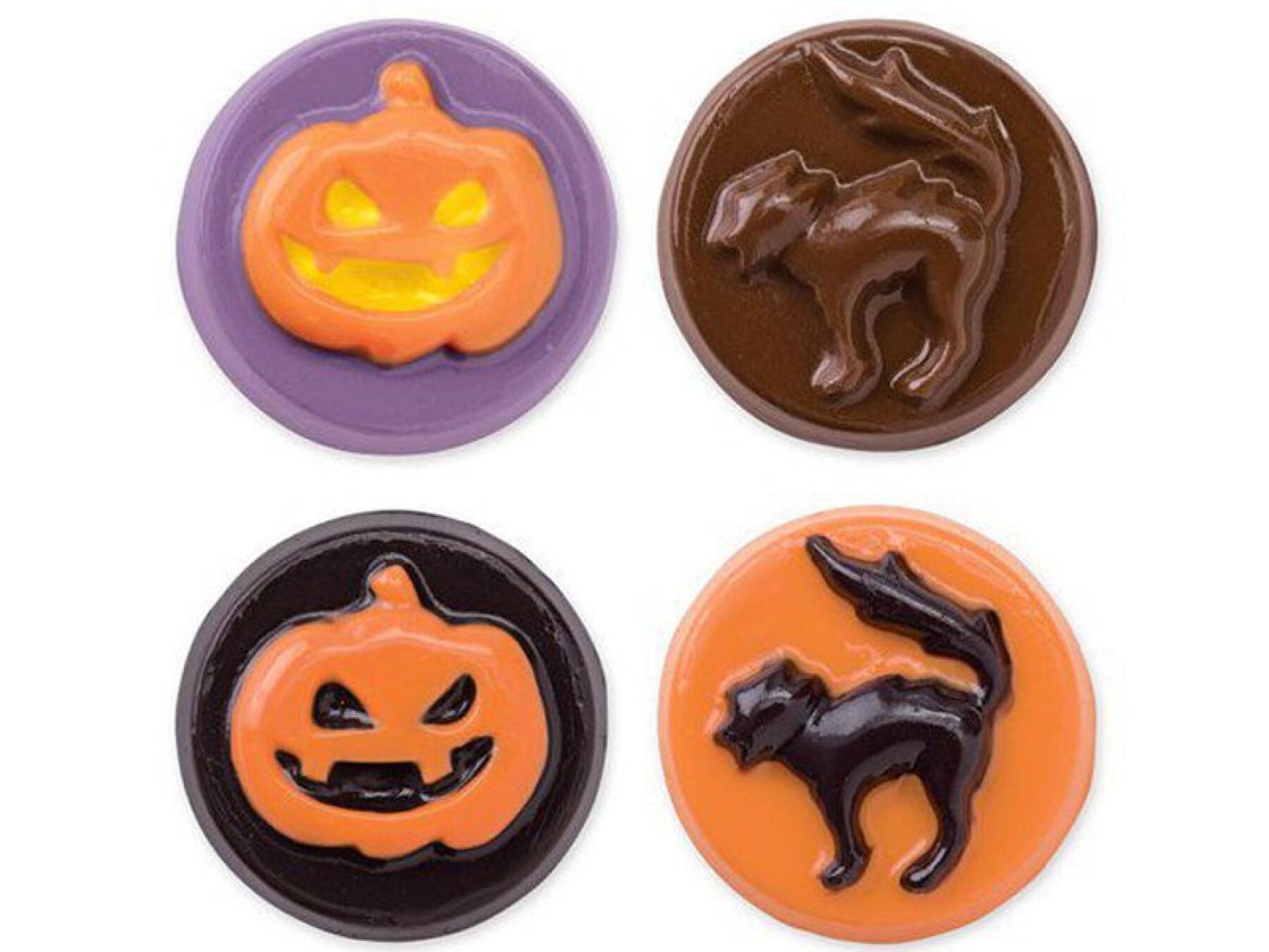 Moules à chocolat pour Halloween