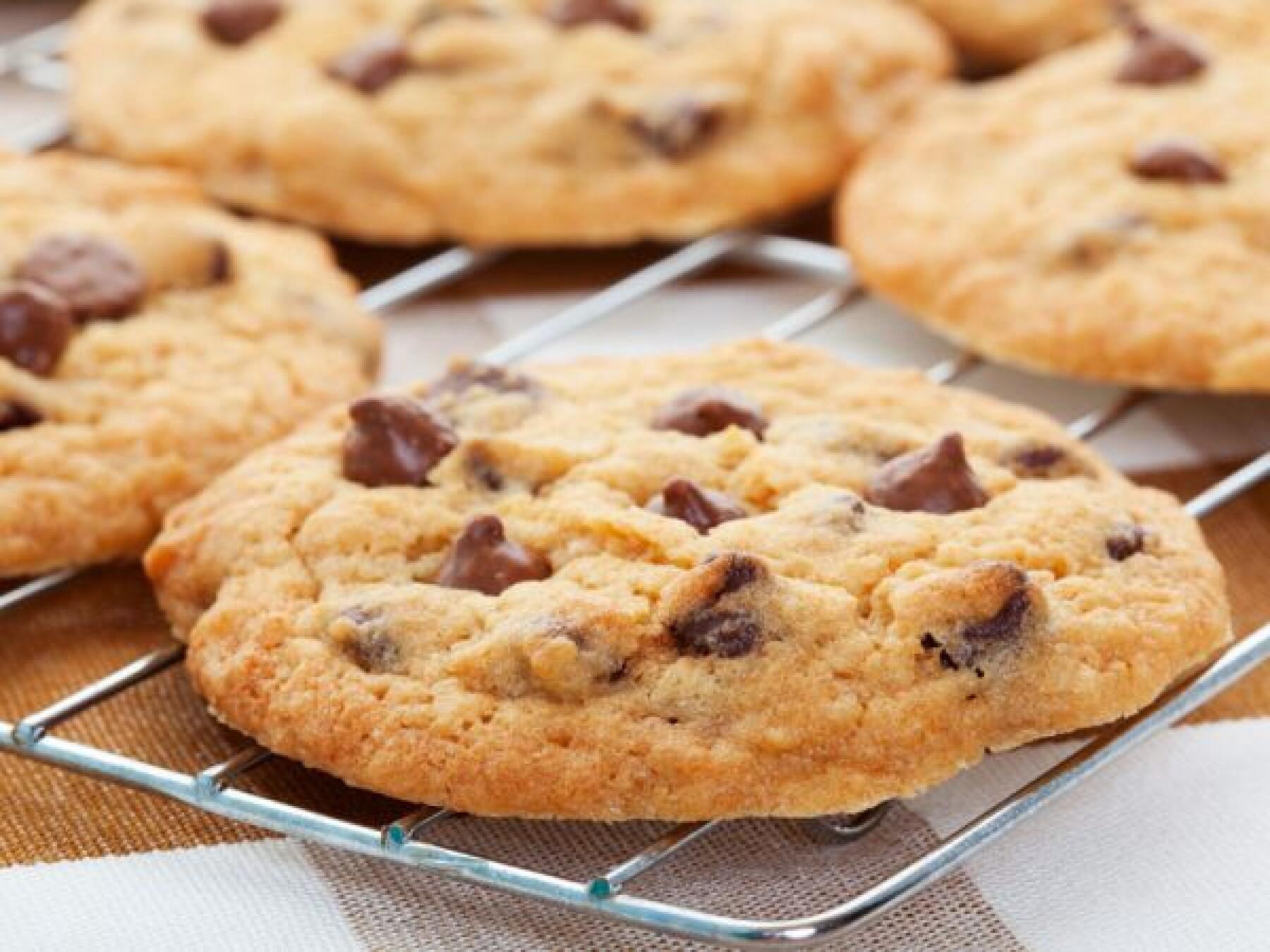 Recette : Cookies pépites de chocolat et amandes