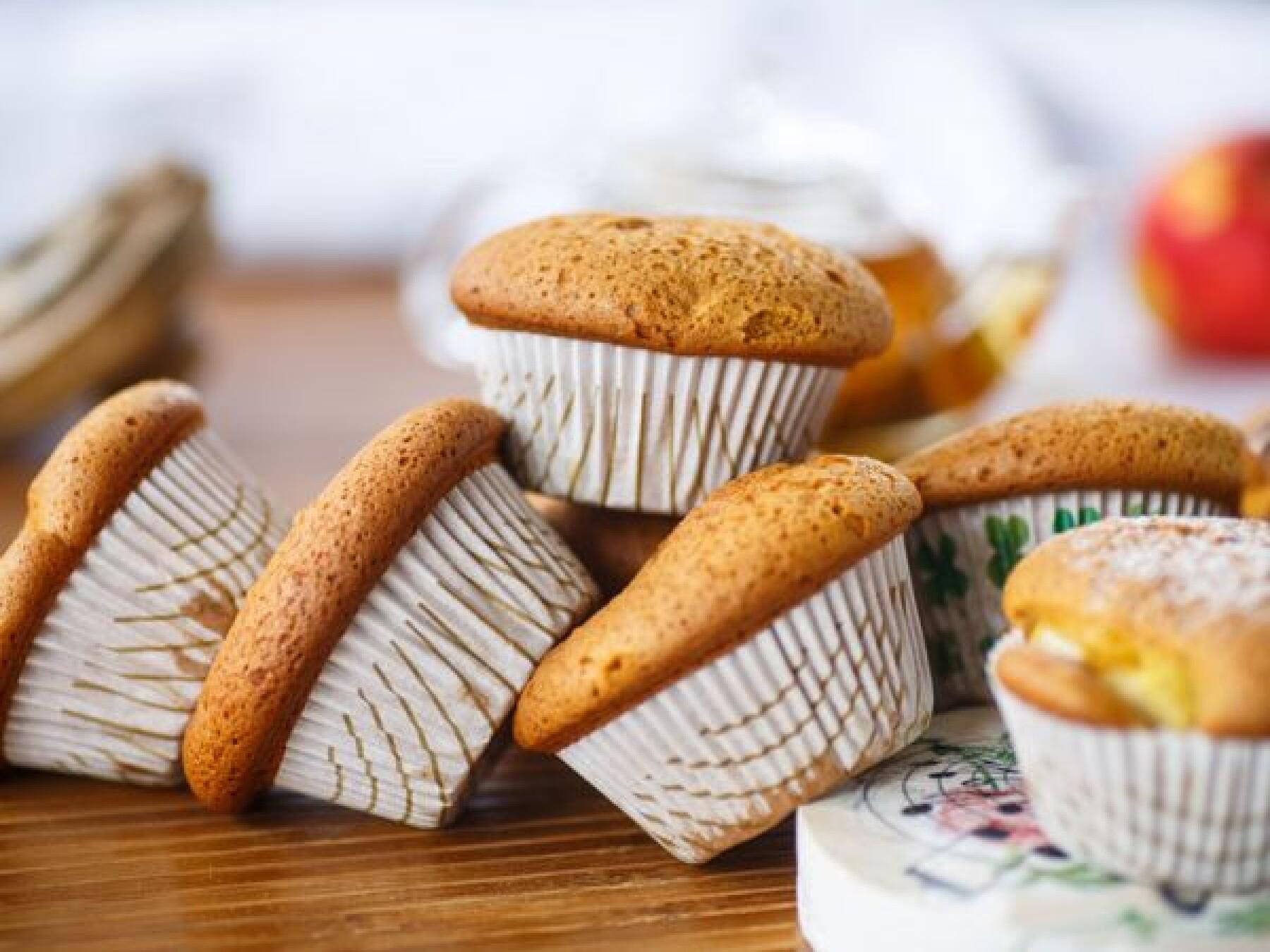 Recette : Muffins crumble aux pommes